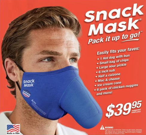 Responsible Eating - Introducing the Snack Mask