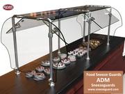 Model ES92 Food Sneeze Guards | ADM Sneezeguards
