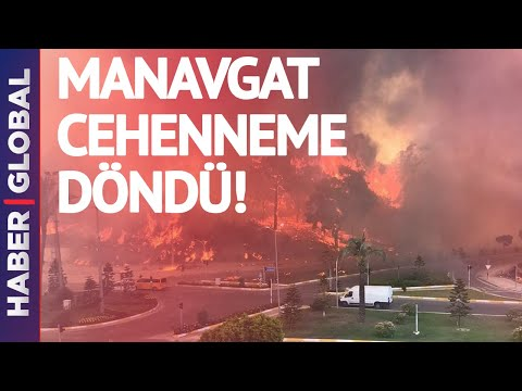 Turkey: The Province of Antalya Has Become One Big Fire Inferno