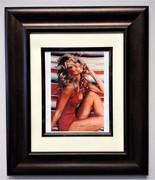 Farrah iconic signed swimsuit photo framed