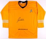 William Shatner Signed Star Trek Uniform PSA
