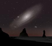 Utsikt mot Andromeda