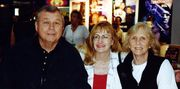Billy Jack - Tom Laughlin and Delores Taylor pic with VHS video store owner