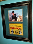 BILLY JACK SIGNED PHOTO DISPLAY W DELORES