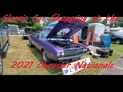 Classic Car Shopping at the Chrysler Nationals, Carlisle Video 4