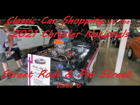 Classic Car Shopping at the 2021 Chrysler Nationals  Video 6