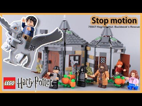 LEGO Harry Potter Hagrid's Hut : Buckbeak's Rescue 75947 Stop Motion Speed Build Review