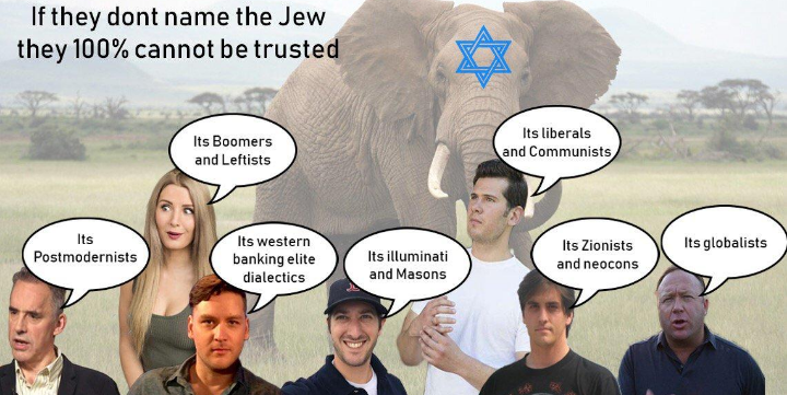 Kikled bubba goyim and assorted gatekeepees