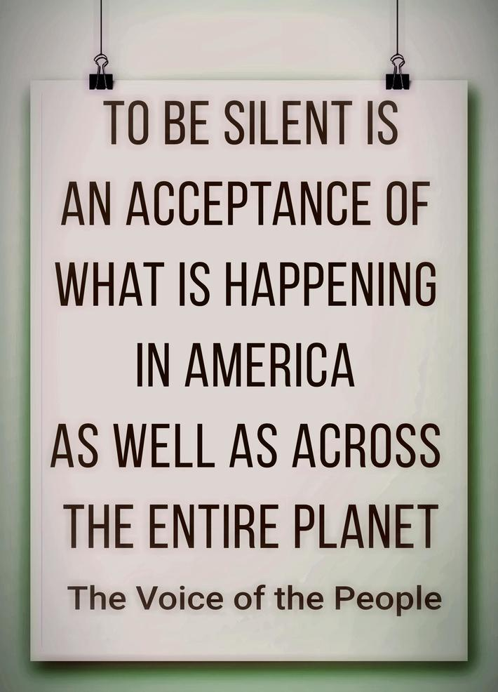To Be Silent Is Total Fucktardery