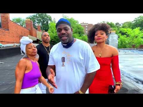 Impromptu Hip Hop Performance on the Rooftop - DJ Revie Rev