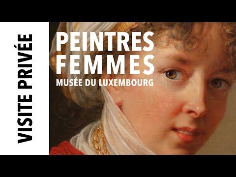 """[Visite privée] Exposition """"Peintres femmes"""" au musée du Luxembourg"""
