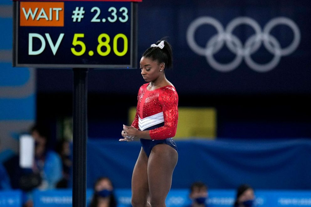 Simone Biles Pulls Out of Individual Vault and Uneven Bars Competitions at Tokyo Olympics