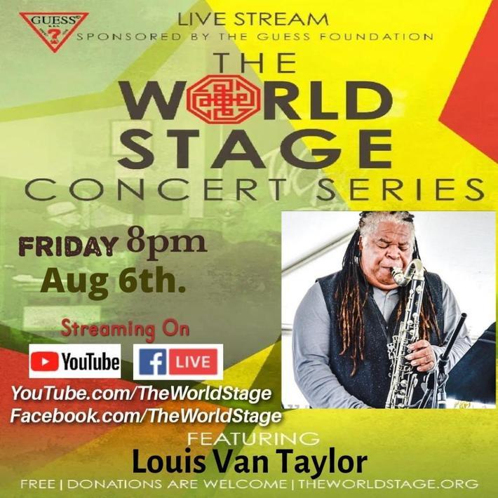"""LOUIS VAN TAYLOR of Kool & the Gang """"Fame"""""""