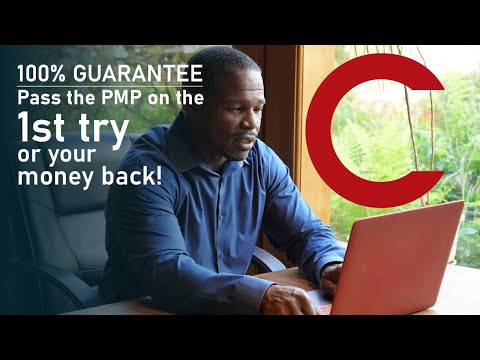 GUARANTEE 100% Pass the PMP on the 1st try or your money back