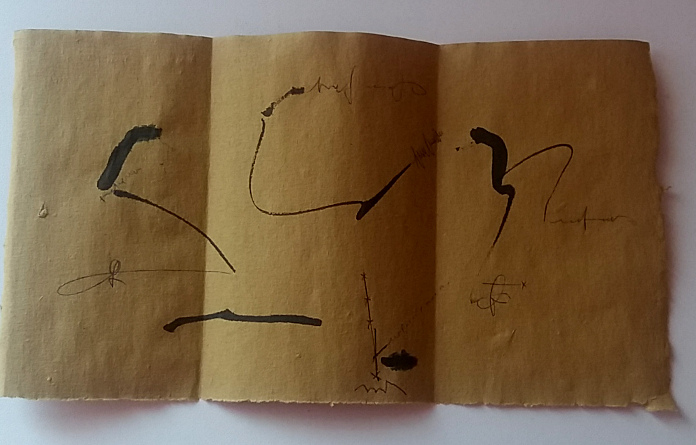 mail art - scrittura asemica