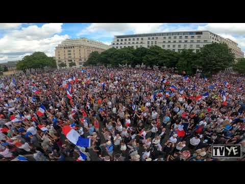 France: Millions March Against Covid Passports Across the Country