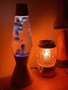 Clear / purple metallic wax Astro