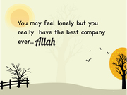 Never be Alone. !!