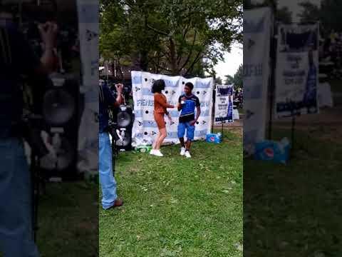 Sani Performing at Crotona Park Bronx New York