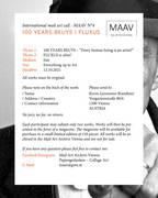 MAIL ART CALL - MAAV 4 - 2021