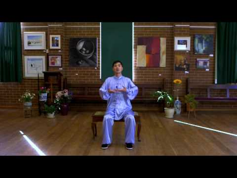 Ba Duan Jin Qi Gong in Sitting Position with Instructions