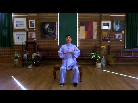 Ba Duan Jin Qi Gong in Sitting Position with Instructions