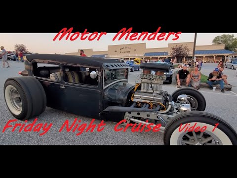 Motor Menders Friday Night Cruise ( July 2021 car cruise ) Video 1