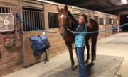 Bonnie Conducting Massage Therapy on Jett