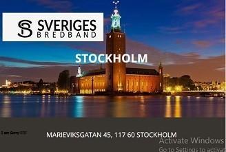 Fiber 1000/1000 Stockholm