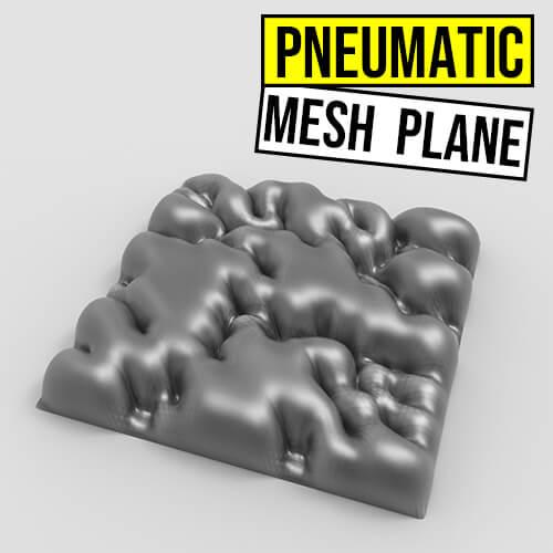 pneumatic Mesh Plane