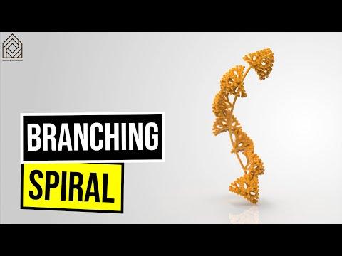 Branching Spiral plane