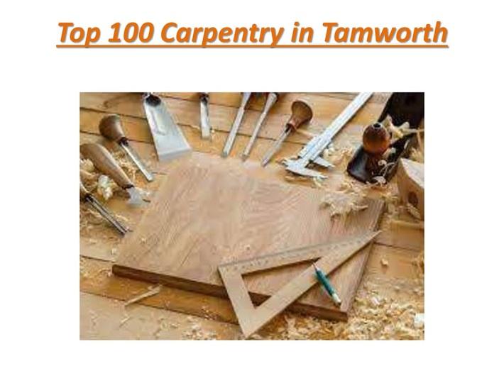 Top 100 Carpentry in Tamworth