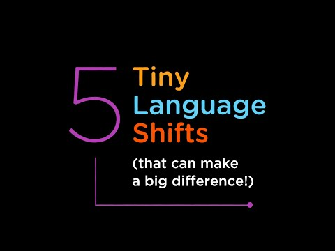 5 Tiny Language Shifts (That Can Make a Big Difference in the Classroom!)