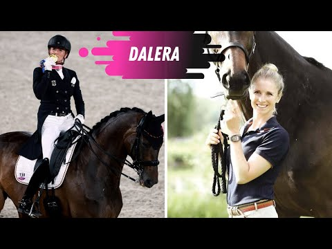 2X Olympic Gold Medal Winning Horse Dalera (Jessica von Bredow- Werndl) As A Young Horse!