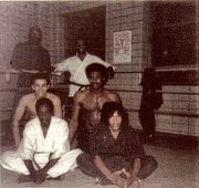 1973 SOKE GRANDMASTER IRVING SOTO TRAINING JIUJUITSU ST. JOHN CENTER BROOKLYN NY CITY