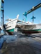 Original boat prior to refit