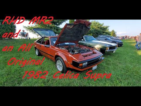 2 Toyota Sports Cars MR2 Right Hand Drive & 1982 Celica Supra(1982 Supra )
