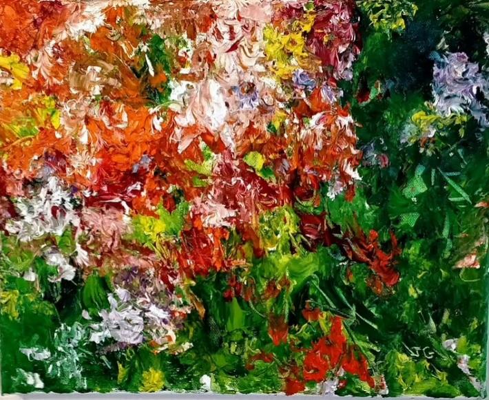 "Petit adagio pour une oeuvre de Jacqueline Gilbert intitulée  ""Andantino"""