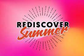 Rediscover Summer activity booklet