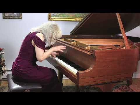 "Sophia Agranovich - Schumann-Liszt:  Liebeslied ""Widmung"" (""Dedication""). From streamed Zoom concert"