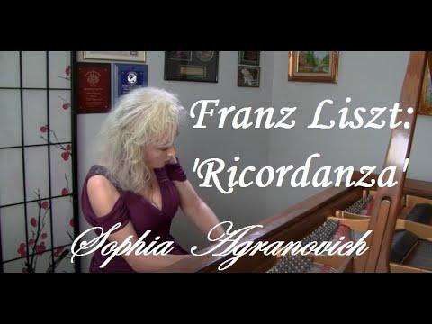 Transcendental Etude No.9 'Ricordanza' by Liszt - Sophia Agranovich