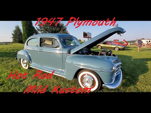 1947 Plymouth Special Deluxe ( Mild Hot Rod / Kustom )