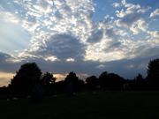 DOOT 2019 Avebury Crystal Matrix Gathering at sunset
