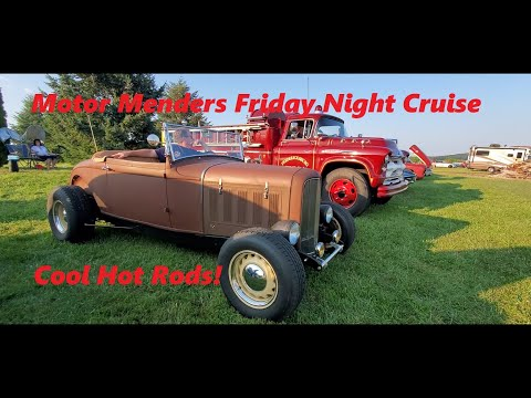 Motor Menders Friday Night Cruise July 2021 ( Classic Hot Rod ) Video 3