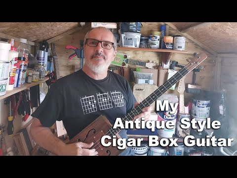 My 3rd Cigar Box Guitar Build - The Best Yet!
