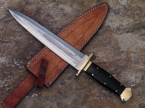 Hunting Dagger by Ash Blades