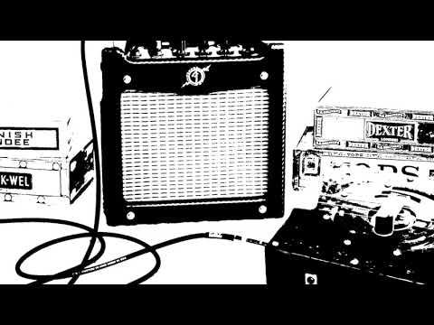 Fender Mustang Hot Rod Deluxe Test Recording - A great amp For Cigar Box Guitar