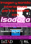 Interactive image and sound for the scene with Isadora.