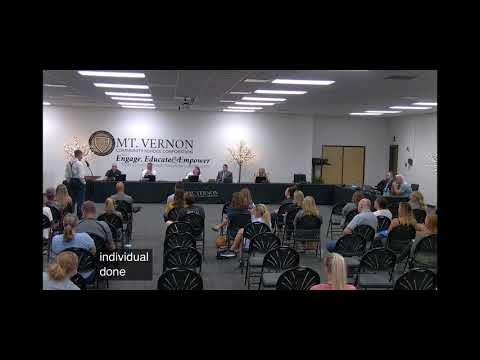 Dr Dan Stock Aug 6, 2021 testimony at the Mt Vernon Community School Corporation meeting