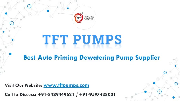 Dewatering Pump Suppliers India